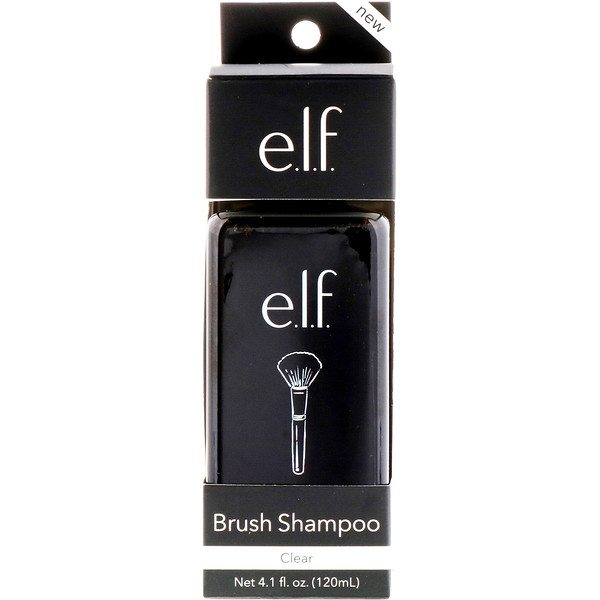 E.L.F., Brush Shampoo, Clear, 4.1 fl oz (120 ml) (Discontinued Item)
