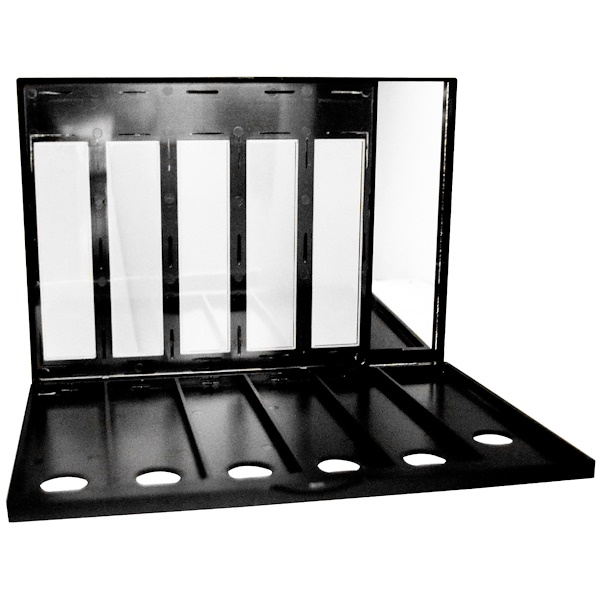 E.L.F. Cosmetics, Beauty-On-The-Go 6-Palette Storage Case, 1 Case (Discontinued Item)