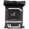 E.L.F. Cosmetics, Makeup Remover Cleansing Cloths, 2 Pack, 20 Pre-Moistened Cloths Each