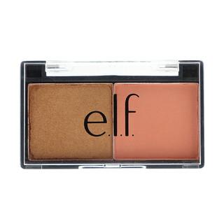 E.L.F. Cosmetics, Best Friend Eyeshadow Duo, Peach Squad, 0.11 oz (3.0 g)