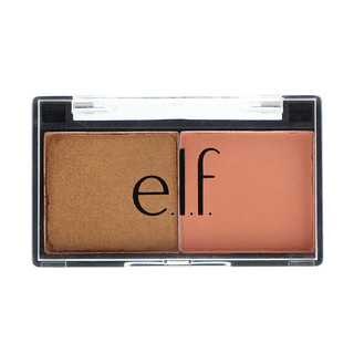 E.L.F. Cosmetics, 베스트 프랜드 아이새도우 듀오, 복숭아 친구들, 0.11 oz (3.0 g)