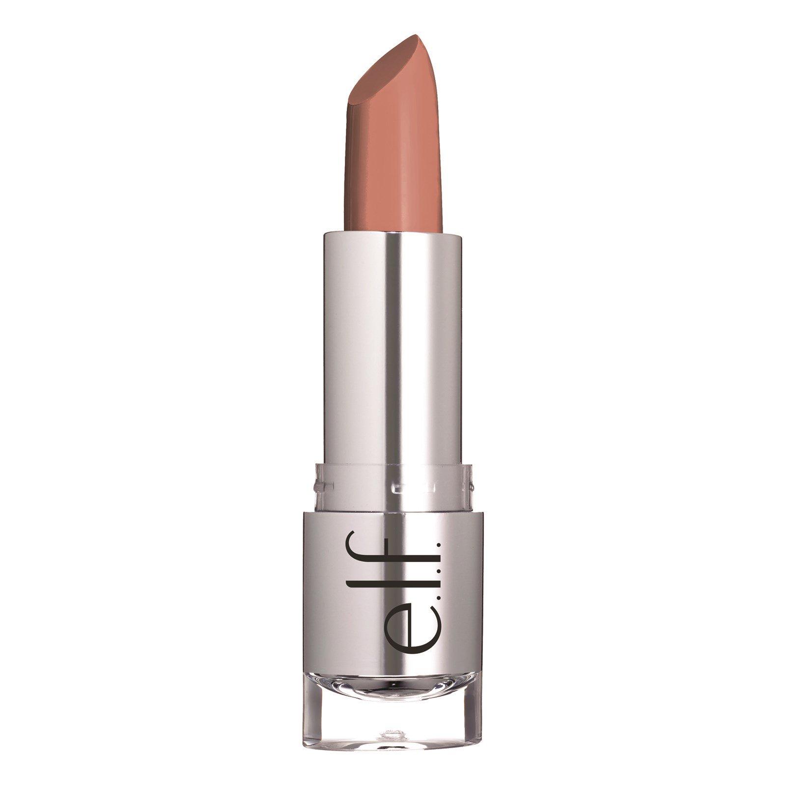 """E.L.F. Cosmetics, """"Прекрасно-естественная"""", атласная помада, оттенок """"Touch of Nude"""" (""""касание естественности""""), 0,13 унции (3,8 г)"""