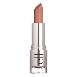 E.L.F. Cosmetics, ビューティフリー・ベア、サテン・リップスティック、タッチ・オブ・ヌード、0.13オンス(3.8 g)