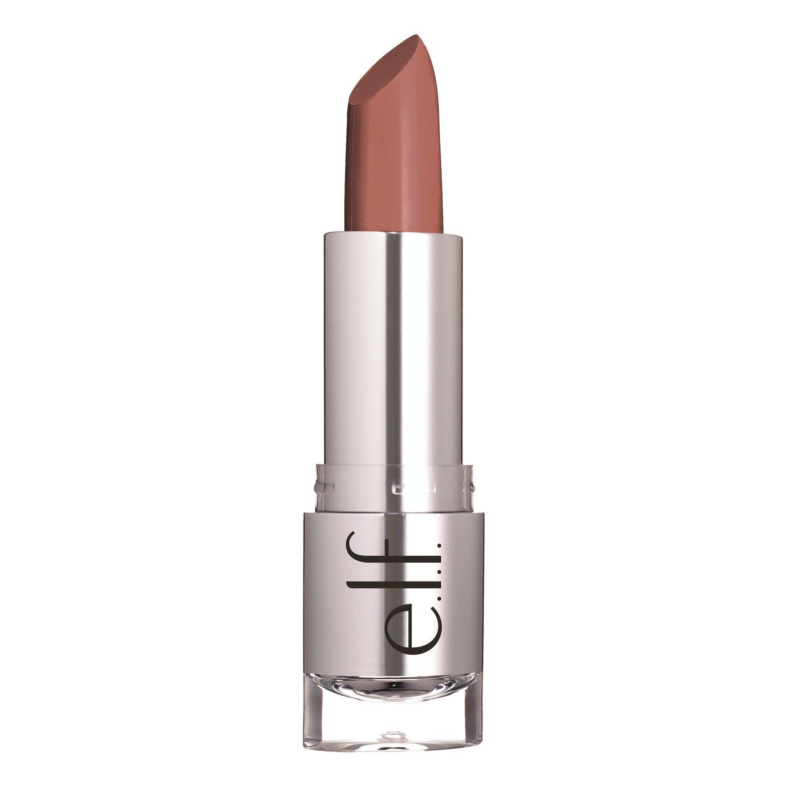 "E.L.F. Cosmetics, ""Прекрасно-естественная"", атласная помада, оттенок ""Touch of Pink"" (""касание розового""), 0,13 унции (3,8 г)"