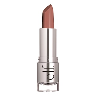 E.L.F. Cosmetics, Beautifully Bare, Satin Lipstick, Touch of Pink, 0.13 oz (3.8 g)