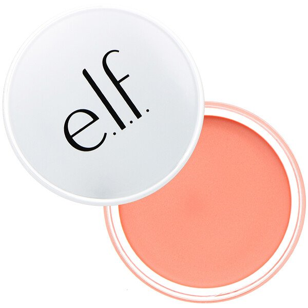 E.L.F., Beautifully Bare, brillo para mejillas, melocotón suave, 0,35 oz (10,0 g) (Discontinued Item)