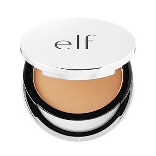 E.L.F. Cosmetics, Beautifully Bare, Sheer Tint Finishing Powder, Light/Medium, 0.33 oz (9.4 g)