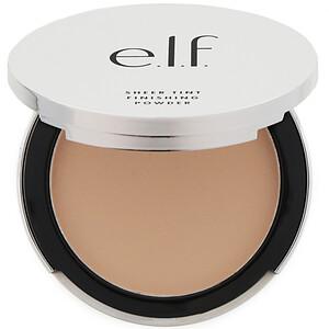ЕЛФ Косметикс, Beautifully Bare, Sheer Tint Finishing Powder, Light/Medium, 0.33 oz (9.4 g) отзывы покупателей