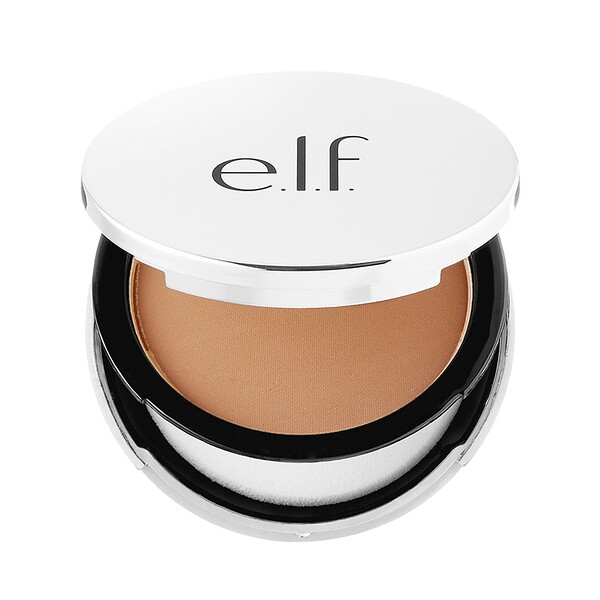E.L.F. Cosmetics, Beautifully Bare, Sheer Tint Finishing Powder, Medium/Dark, 0.33 oz (9.4 g)
