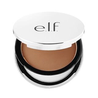 E.L.F. Cosmetics, Beautifully Bare, Sheer Tint Finishing Powder, Dark/Deep, 0.33 oz (9.4 g)
