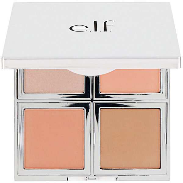 Beautifully Bare, Natural Glow Face Palette, Fresh & Flawless , 0.56 oz (16 g)