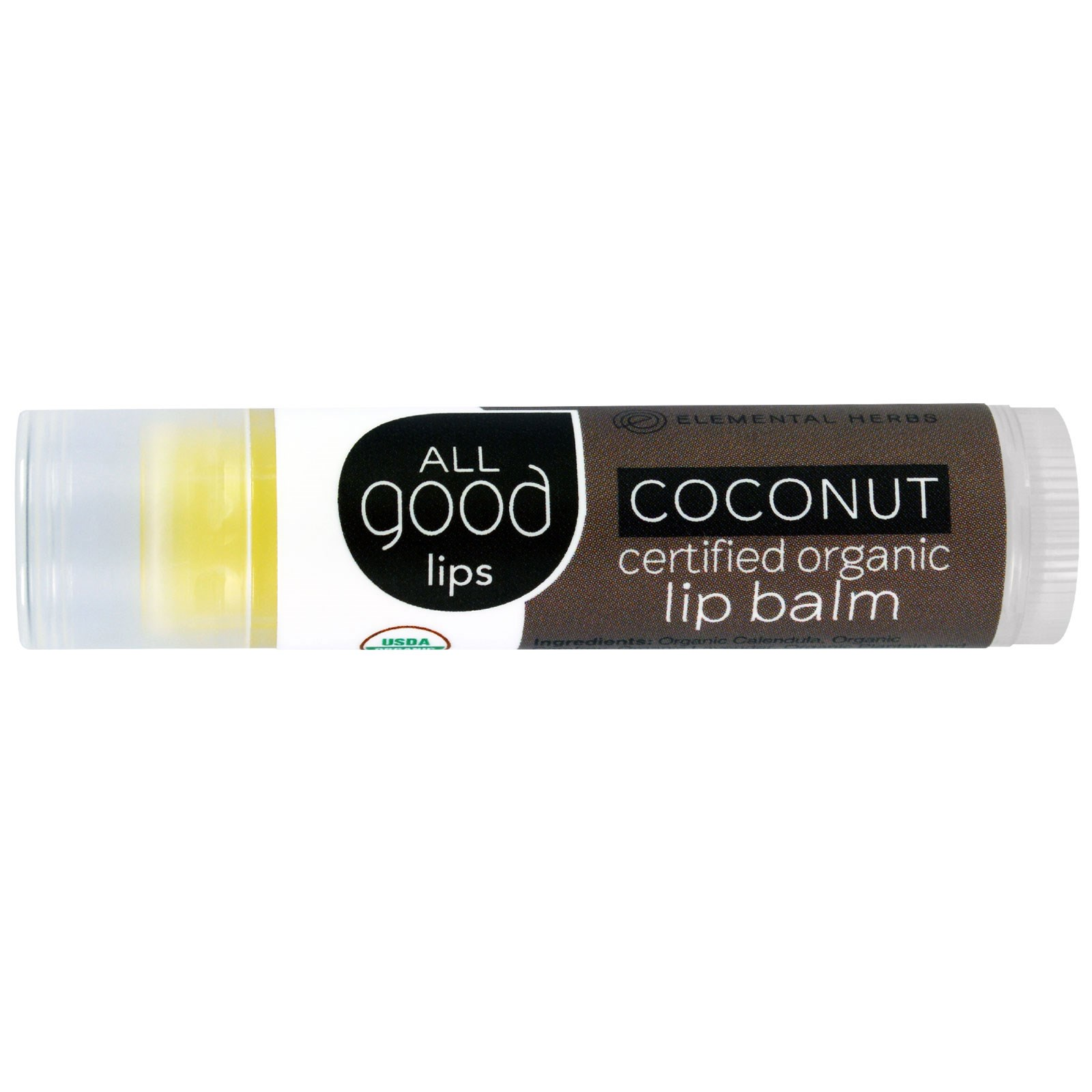 Elemental Herbs - All Good Lips SPF 20 Lip Balm Unscented - 4.25 Gram(s) (pack of 4) Dr. D Schwab Herbal Foaming Oil Free Cleanser Great for Most Skin Types - 8 Oz