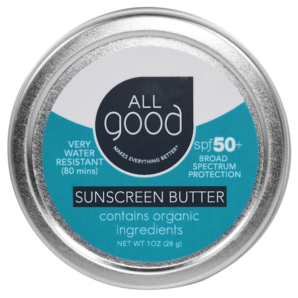 All Good Products, All Good,防曬霜,SPF 50,1 oz (28 g)