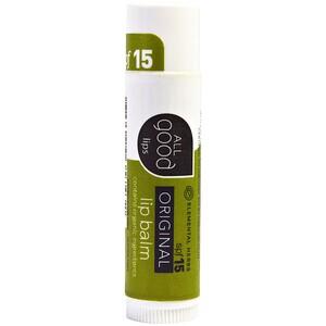Ол Гуд Продактс, All Good Lips, Original, Lip Balm, SPF 15, 4.25 g отзывы