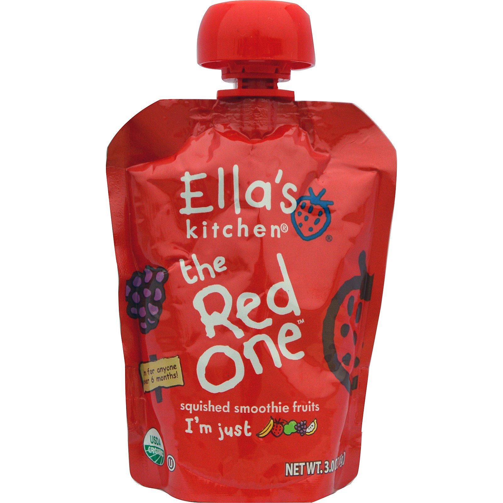 ellas kitchen the red one squished smoothie fruits - Ellas Kitchen