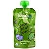 Ella's Kitchen, 超滑蔬果泥,梨,豌豆+西蘭花,3.5盎司(99克)