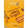 Ella's Kitchen, Nibbly Fingers, Bananas + Raisins, 5 Bars, 4.4 oz (8 g) Each