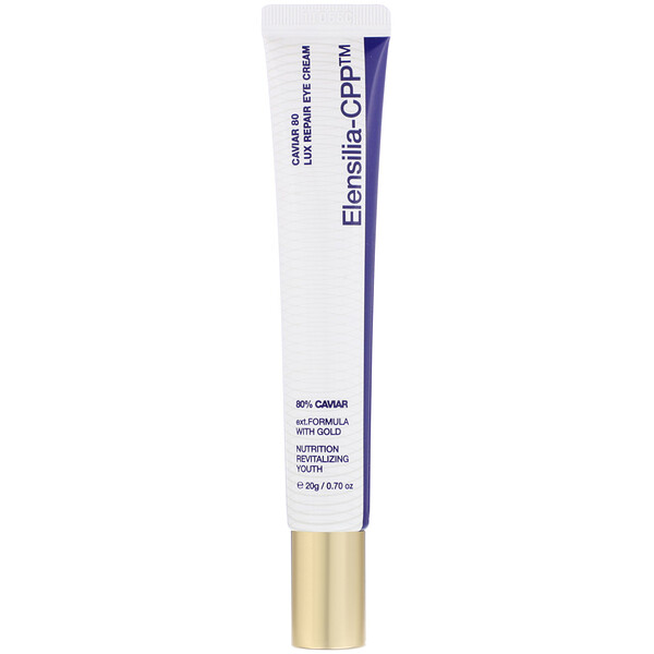 Elensilia, Elensilia-CPP, Caviar 80 Lux Repair Eye Cream, 0.70 oz (20 g)