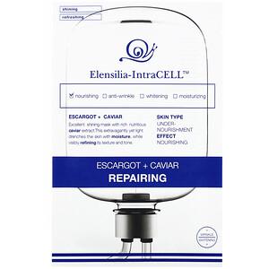 Elensilia, Elensilia-IntraCELL, Escargot + Caviar Repairing Mask, 10 Sheets, 0.85 fl oz (25 ml) Each отзывы