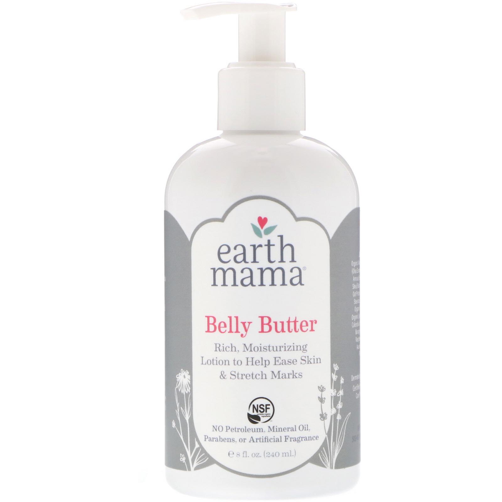 Earth Mama, Belly Butter, 8 fl oz (240 ml) - iHerb com