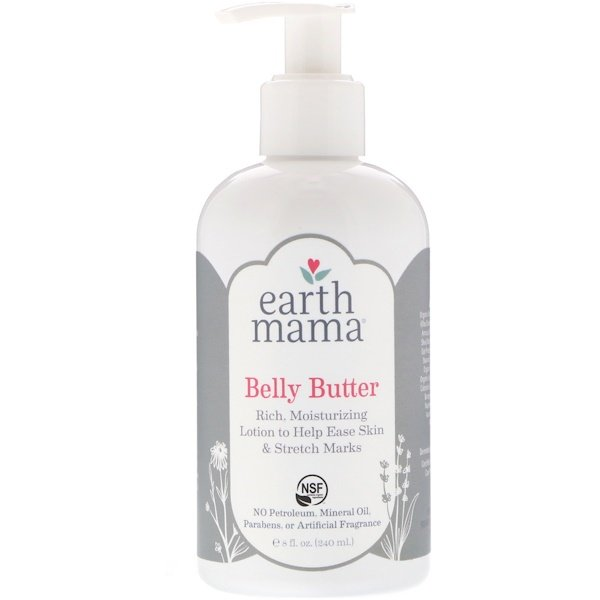 Earth Mama, Bauchbutter, 240 ml (Discontinued Item)