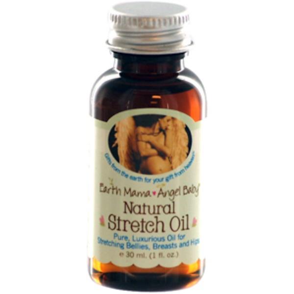 Earth Mama, Natural Stretch Oil, 1 fl oz (30 ml) (Discontinued Item)