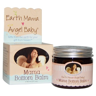 Earth Mama Angel Baby, Mama Bottom Balm, 2 fl oz (60 ml)