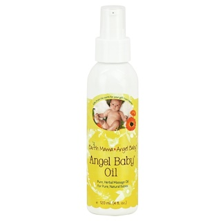 Earth Mama Angel Baby, Angel Baby Oil, 4 fl oz (120 ml)