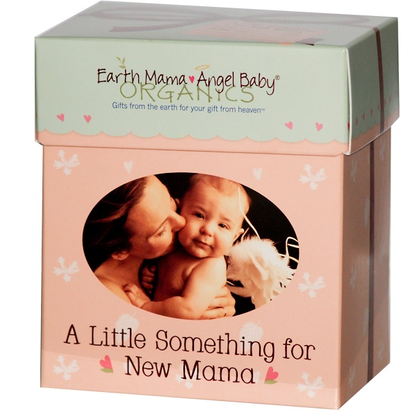 Earth Mama, A Little Something for New Mama Gift Set, 3 Items (Discontinued Item)