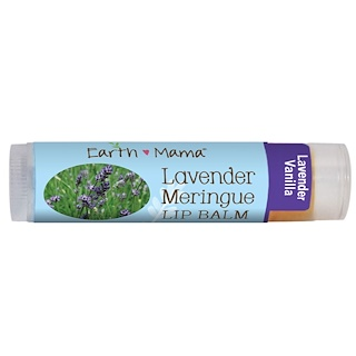 Earth Mama Angel Baby, Lavender Meringue Lip Balm, Lavender Vanilla, .15 oz (4 ml)