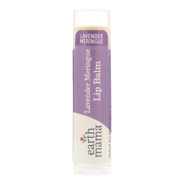 Earth Mama, Lip Balm, Lavender Meringue, .15 oz (4 ml) (Discontinued Item)