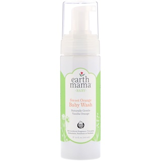 Earth Mama, Baby, Sweet Orange Baby Wash, 5.3 fl oz (160 ml)