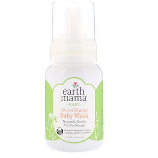 Earth Mama, Моющей гель для малышей, ваниль апельсин, 5.3 ж. унц. (160 мл)