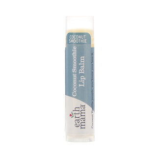 Earth Mama, Coconut Smoothie Lip Balm, Coconut Vanilla, .15 oz (4 ml)