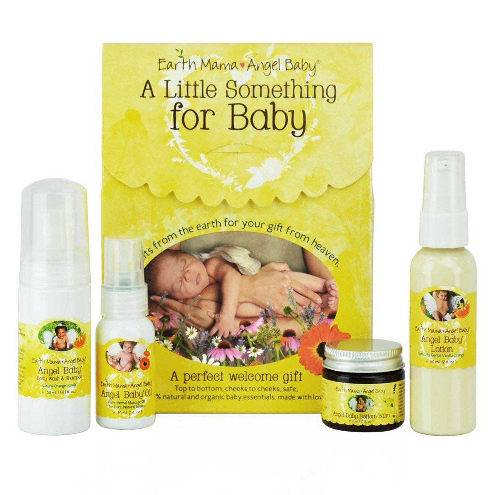 Earth Mama Angel Baby, Кое-что для малыша, набор из 4 предметов