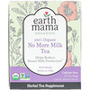 Earth Mama, 100% Organic No More Milk Tea, Refreshing Hibiscus Sage, 16 Tea Bags, 1.23 oz (35 g)