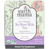 Earth Mama, عضوي 100% No More Milk Tea، مريمية منعشة، 16 كيس شاي، 1.23 أونصة (35 ج)
