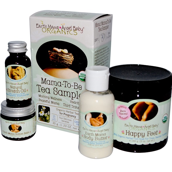 Earth Mama, Pregnancy Pampering Kit, 5 Pieces (Discontinued Item)