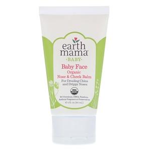 Ёрт Мама Энджел Бэби, Baby, Baby Face Organic Nose & Cheek Balm, 2 fl oz (60 ml) отзывы покупателей