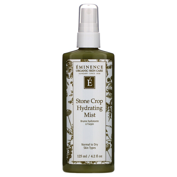 Eminence Organics, Stone Crop Hydrating Mist, 4.2 fl oz (125 ml) (Discontinued Item)