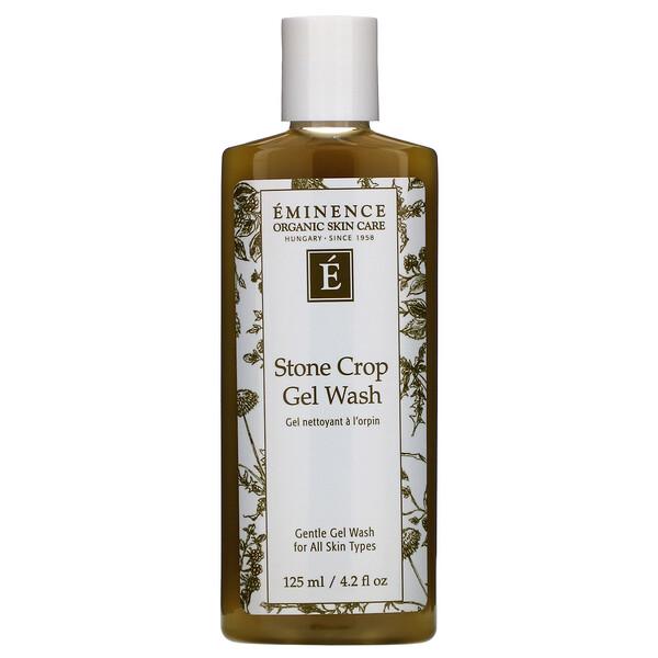 Eminence Organics, Stone Crop Gel Wash, 4.2 fl oz (125 ml) (Discontinued Item)