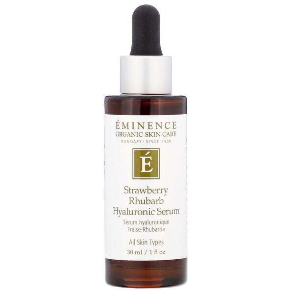 Strawberry Rhubarb Hyaluronic Serum, 1 fl oz (30 ml)