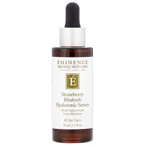 Eminence Organics, Strawberry Rhubarb Hyaluronic Serum, 1 fl oz (30 ml) отзывы