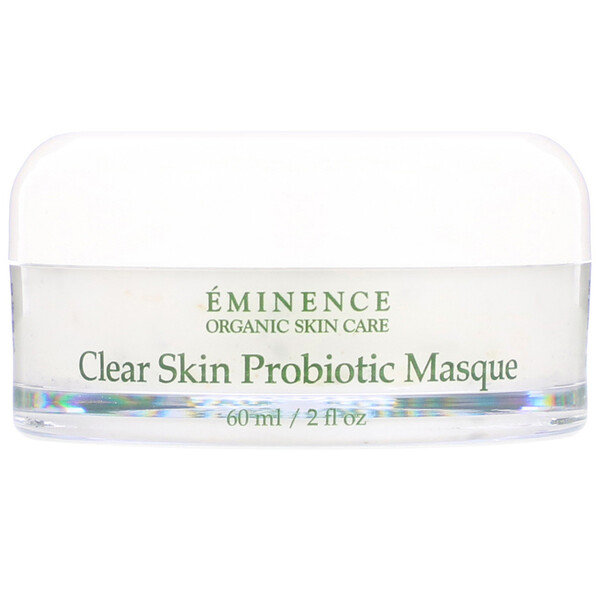 Eminence Organics, Clear Skin Probiotic Masque, 2 fl oz (60 ml) (Discontinued Item)