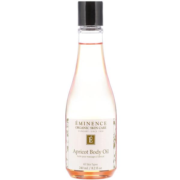 Eminence Organics, Apricot Body Oil, 8.2 fl oz (240 ml) (Discontinued Item)