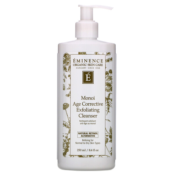 Eminence Organics, Monoi Age Corrective Exfoliating Cleanser, 8.4 fl oz (250 ml) (Discontinued Item)