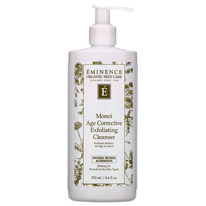 Eminence Organics, Monoi Age Corrective Exfoliating Cleanser, 8.4 fl oz (250 ml) отзывы