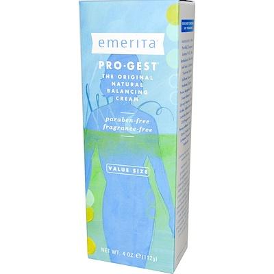 Pro-Gest, крем, регулирующий водно-солевой баланс кожи, без запаха, 112 г (4 унции) arnicare gel облегчение боли без запаха 120 г 4 1 унции