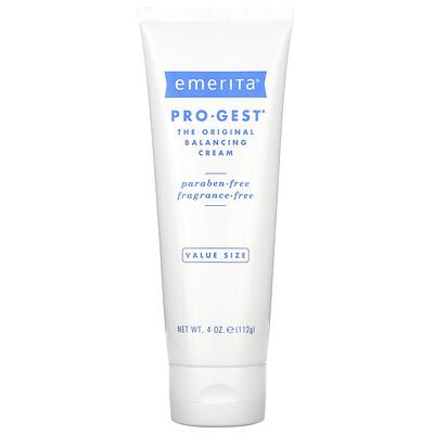 Emerita Pro-Gest, крем, регулирующий водно-солевой баланс кожи, без запаха, 112 г (4 унции)