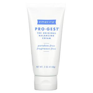 Эмерита, Pro-Gest, Balancing Cream, Fragrance Free, 2 oz (56 g) отзывы покупателей